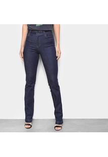 Calça Jeans Reta Colcci Bia Cintura Alta Feminina - Feminino