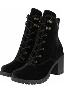 Bota Barth Shoes Wind Feminino - Feminino-Preto