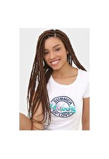 Camiseta Billabong Love Palms Branca