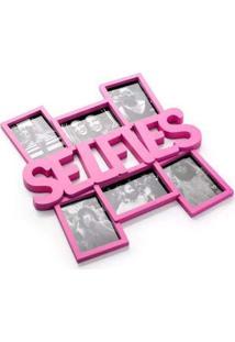 Painel De Fotos Selfie Rosa