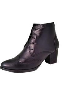 Bota Oxford Comitiva Boots Preto