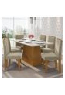 Mesa Barbara 160 Cm Ype Off White 06 Cadeiras Amanda Ype Wd22 New Ceval