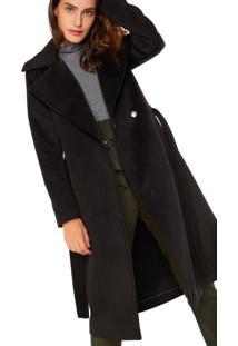 Trench Coat Com Amarração