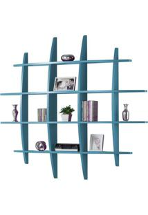 Prateleira Hashtag Grande Azul - Tommy Design