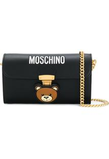 Moschino Clutch Teddy Bear - Preto