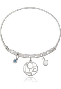Bracelete Le Diamond Patuá Amor Prata - Tricae
