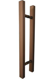 Puxador Duplo Para Porta Em Alumínio Cl3101 Classic Ducon Metais Bronze