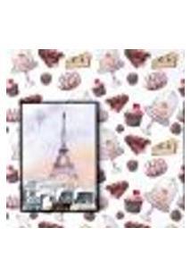 Papel De Parede Autocolante Rolo 0,58 X 3M - Doces Cozinha Chocolate 285130853