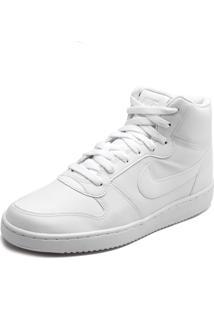 Tênis Couro Nike Sportswear Ebernon Mid Branco