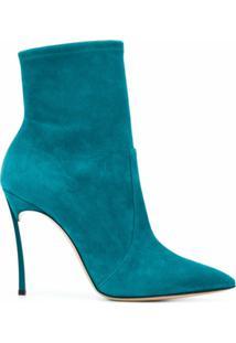 Casadei Ankle Boot Blade - Azul