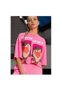 T-Shirt Curta Rosa Ref: 502Ts002385 08577 T-Shirt Curta Rosa Ref: 502Ts002385 08577 - Gg - Rosa My Favorite