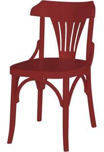 Cadeira Opzione Acabamento Vinho - 27449 - Sun House
