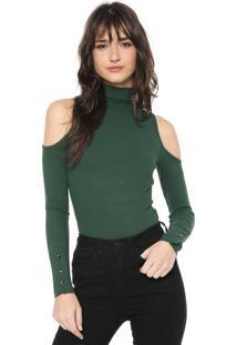 Blusa Iódice Celine Verde