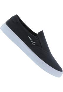 Tênis Slip On Nike Sb Portmore Ii Solarsoft - Masculino - Preto
