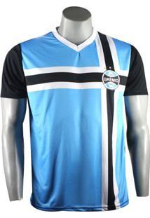 Camiseta Masculina Grêmio Retro 1983 Poa
