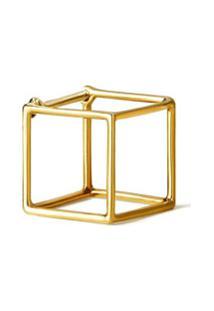 Shihara Par De Brincos 'Square 10' - Metálico