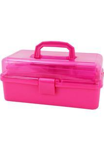 Caixa Organizadora- Pink- 20X33X14,8Cm- Jacki Dejacki Design