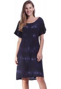 Vestido Curto Amazonia Vital Quadrado Feminino - Feminino