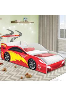 Cama Carro Solteiro Vermelho Casah - Vermelho - Dafiti