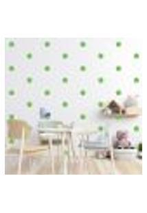 Adesivo Decorativo De Parede - Kit Com 60 Flores - 013Kad15