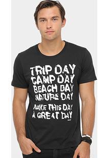 Camiseta Colcci Trip Day Masculina - Masculino
