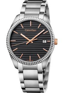 Relógio Calvin Klein K5R31B41 Prata
