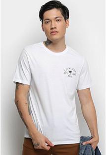 Camiseta Cavalera T Shirt Yin Yang Masculina - Masculino-Branco