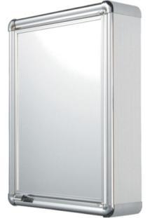 Espelheira Para Banheiro 1 Porta 35Cmx45Cm Astra Cromado