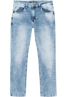 Calça John John Slim Marau Jeans Azul Masculina (Jeans Claro, 36)