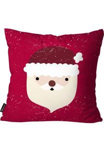 Capa Para Almofada Mdecor De Natal Papai Vermelho