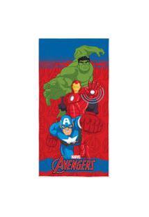 Toalha De Banho Infantil Estampa Avengers Lepper