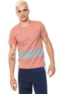 Camiseta Fiveblu Bolso Rosa