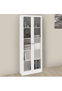 Armário Para Escritório 2 Portas Branco Me4115 - Tecno Mobili