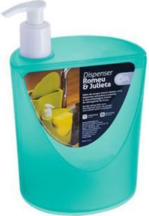 Dispenser Romeu & Julieta Verde 600Ml 10837/0129 - Coza - Coza