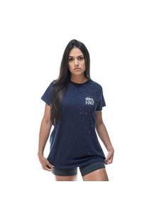 Camiseta Round Shatark 1967 - Azul Marinho