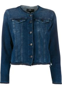 7 For All Mankind Jaqueta Jeans Illusion Integrity - Azul