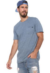 Camiseta Mcd Bolso Azul