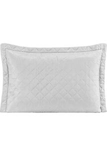 Porta Travesseiro Mr Microfibra 01 Peça Matelado Ultrassônico - Branco