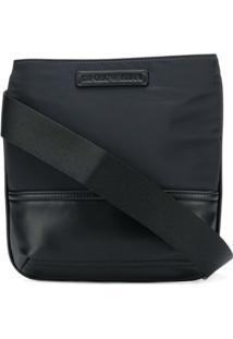 Emporio Armani Messenger Bag Com Logo - Azul