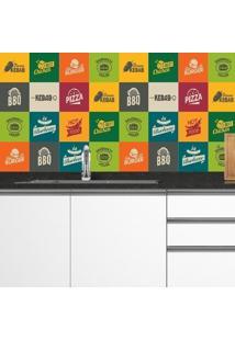 Adesivo Azulejos Foods (20X20Cm)