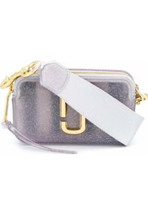 Marc Jacobs Bolsa Transversal 'The Jelly Snapshot' - Prateado