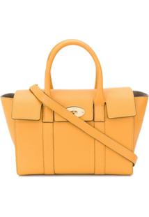 Mulberry Bolsa Bayswater Classic Grain Pequena - Amarelo