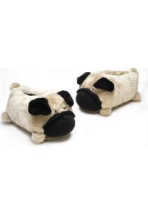 Pantufa Ricsen Pug 3D