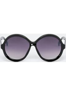 Óculos De Sol Brilhante Redondo feminino   Gostei e agora  09189439b4