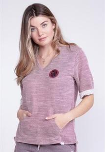 Camiseta O'Neill Especial Canyon Feminina - Feminino-Vinho