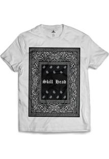 Camiseta Skill Head Square Bandana - Masculino