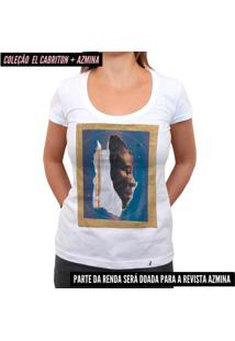 Atmosfera Negra - Camiseta Clássica Feminina
