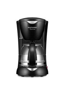 Cafeteira Elétrica Gourmet Com 200W Capacidade De 15 Xícaras + Colher Dosadora + Filtro Permanente Preta Multilaser - Be01 Preto