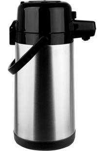 Garrafa Térmica Aço-Inox Pressão 2,5L Termopro