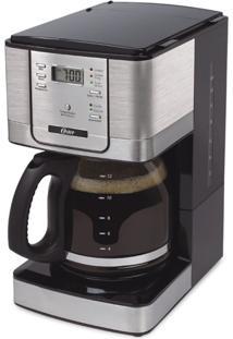 Cafeteira Elétrica Oster Flavor Programável 220V Prata 1,8L Com Filtro Permanente De Nylon